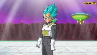 Vegeta super saiyan Blue vs Hit