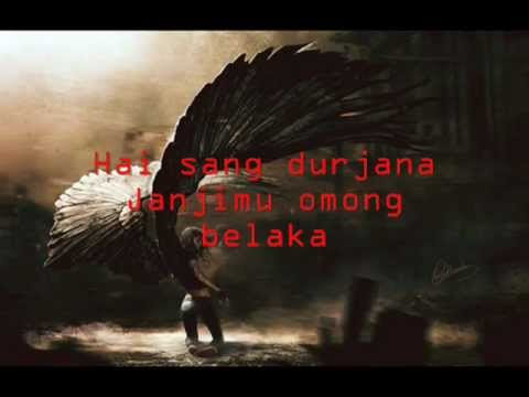 Power Metal Sang Pendusta with lyrics by:Pii FansChester