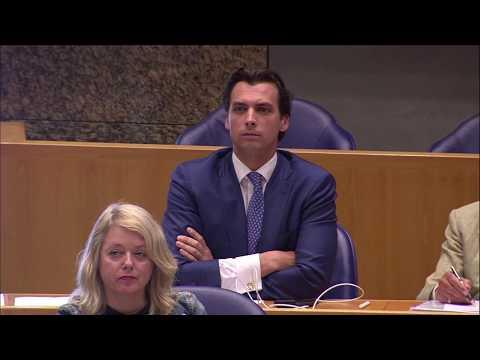Thierry Baudet (FVD) eist hoofdelijke stemming over moties immigratie en illegaliteit - 16 mei 2017