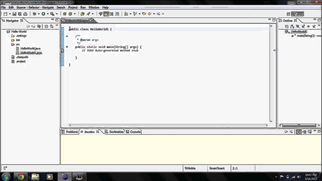 how to make a delay in java