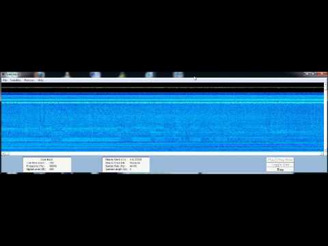 2-12-2012 elf vlf spectrogram Very Low Frequency 0 - 22Khz HAARP?