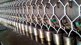 Gabions machine mesh type 6cmx8cm - Máy đan lưới thép rọ đá mắt lưới 6x8cm Hưng Phú