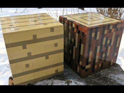 LEGO Wooden Planks - Minecraft