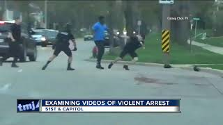 Videos offer different perspectives of controversial Milwaukee Police arrest