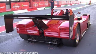 Ferrari 333 SP Insane V12 Sound - BETTER THAN A FORMULA 1?!