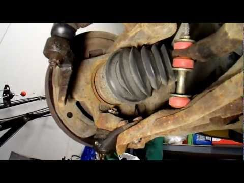 Lower ball joint replacement GM H Body Part1