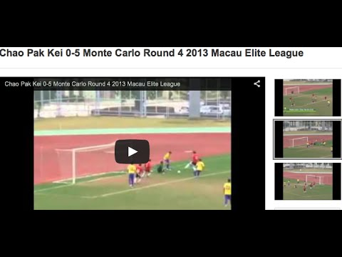 Chao Pak Kei 0-5 Monte Carlo Round 4 2013 Macau Elite League