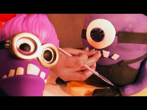 Despicable Me 2 3D Evil Minion Cake - How To