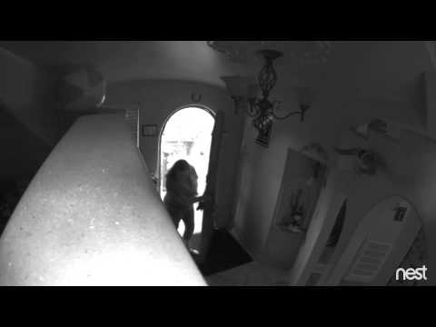 Nest Camera Catches Home Burglar (Also known as Dropcam)