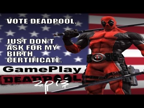Deadpool GamePlay