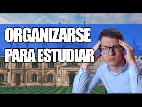Cómo Organizarse Para Estudiar