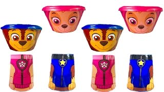 Best Learning Colors Video for Children  - Paw Patrol Skye and Chase Have Wrong Heads Need to Match