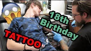 I Got A TATTOO For My 18th Birthday!