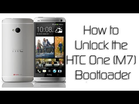 How to Unlock the HTC One Bootloader