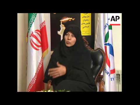 IRAN: TEHRAN: WOMEN'S ISLAMIC SOLIDARITY GAMES GETS UNDERWAY