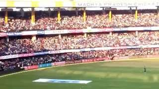 dhoni indore sixer on last ball