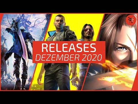 🆕 Neue SPIELE im DEZEMBER 2020 für PS4, PS5, Xbox One, Xbox Series X, Nintendo Switch & PC