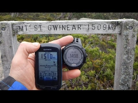 Suunto Ambit 2 - What I DID hate about it before I discovered the Fused Alti function