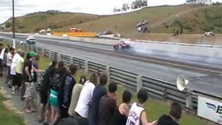 CBR RX2 runs an 7.70 @ 173 mi/hr @ Rotary summerdrags 2010 NZ