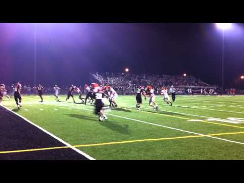 Maine South 4th down stop