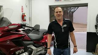 2018 2019 Honda Gold Wing - Quick Trick Trunk Removal, First Attempt!