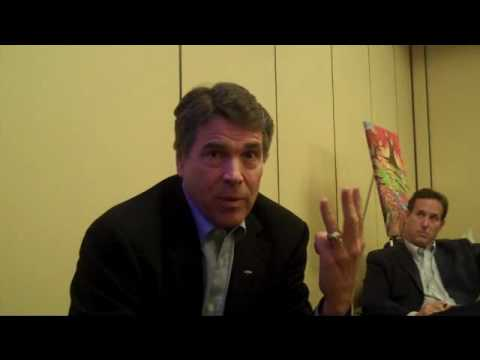 Rick Perry interview at SRLC Part 2