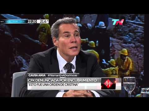 El fiscal Nisman denuncia a la presidente Cristina Kirchner de encubrir atentado terrorista