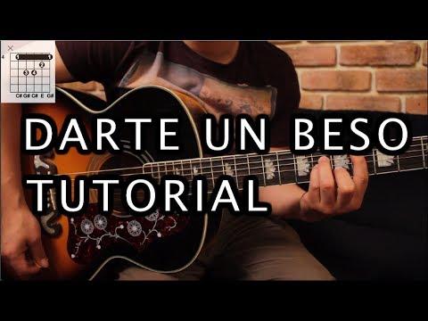Prince Royce - Darte un Beso Tutorial Guitarra (SIN CAPO) // Guitar Lesson HD
