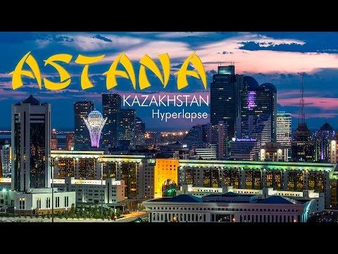 Astana, Kazakhstan. Timelapse & Hyperlapse. Астана, Казахстан