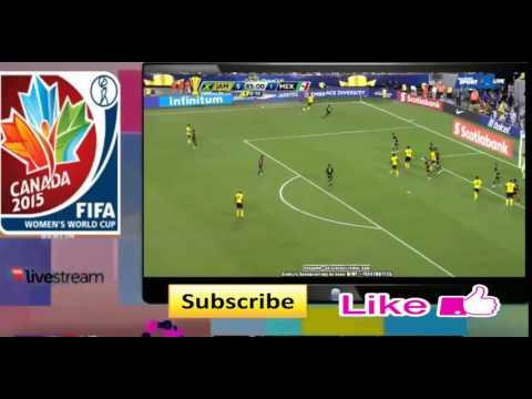 Mexico vs Jamaica 3-1 Final FULL MATCH 26-7-2015