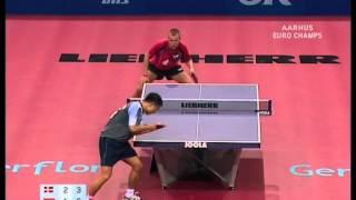Table Tennis - Attack (MAZE) Vs Defense (CHEN WEIXING) XX !