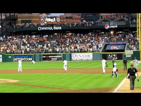 Detroit Tigers Armando Galarraga Perfect Game Robbery 6/2/10