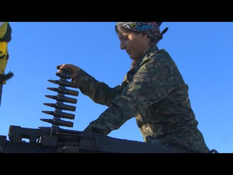 All-female Kurdish unit takes on ISIS