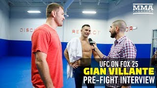 Gian Villante Ufc Champ Stipe Miocic Is My Valet For Week  Mma Fighting