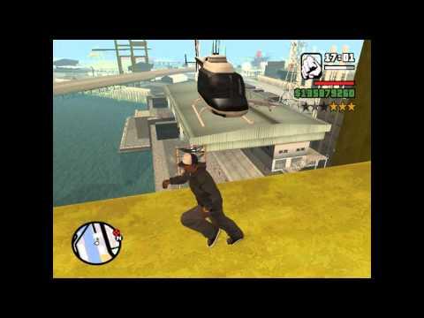 GTA San Andreas   Como obtener helicoptero de policia y noticias (Loquendo)