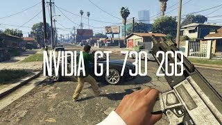 Nvidia GT 730 2GB Grand Theft Auto 5