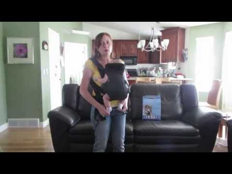 Review of Infantino Flip Front 2 Back Baby Carrier (with a newborn)