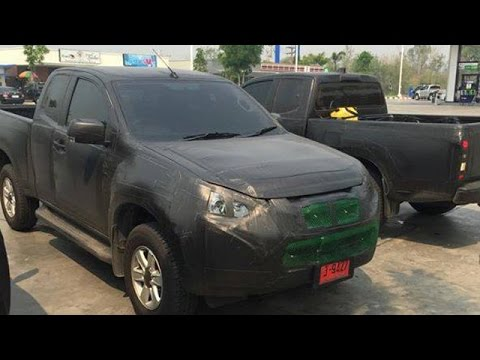 Isuzu D-Max Facelift Spotted: Launch Soon