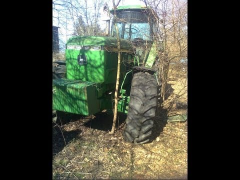 1992 JD 4960 Tractor with 14 Hours - Sat Outside for 20 Years