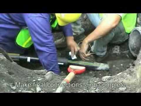 Live Mains Insertion: Trenchless Gas Main Renewal