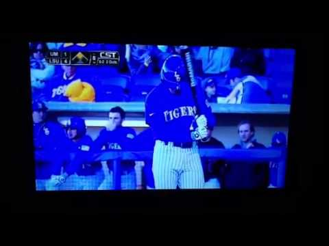 Sean McMullen first LSU at bat