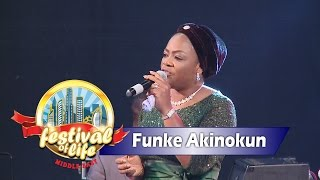 Funke Akinokun Powerful Worship @ RCCG Dubai FESTIVAL OF LIFE 2016