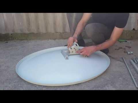 Как правильно и быстро собрать спутниковую тарелку Ку диапазона своими руками