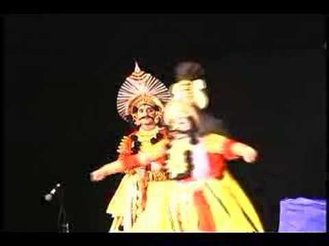 Yakshagana Dance - Ninnaya Balu Helu by Chittani in Gada...