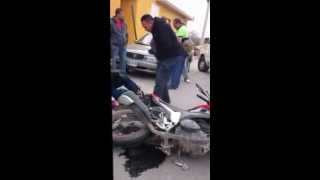 ACCIDENTE EN MOTO