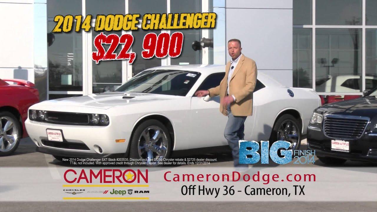 Big Finish Savings On Dodge Charger Challenger And