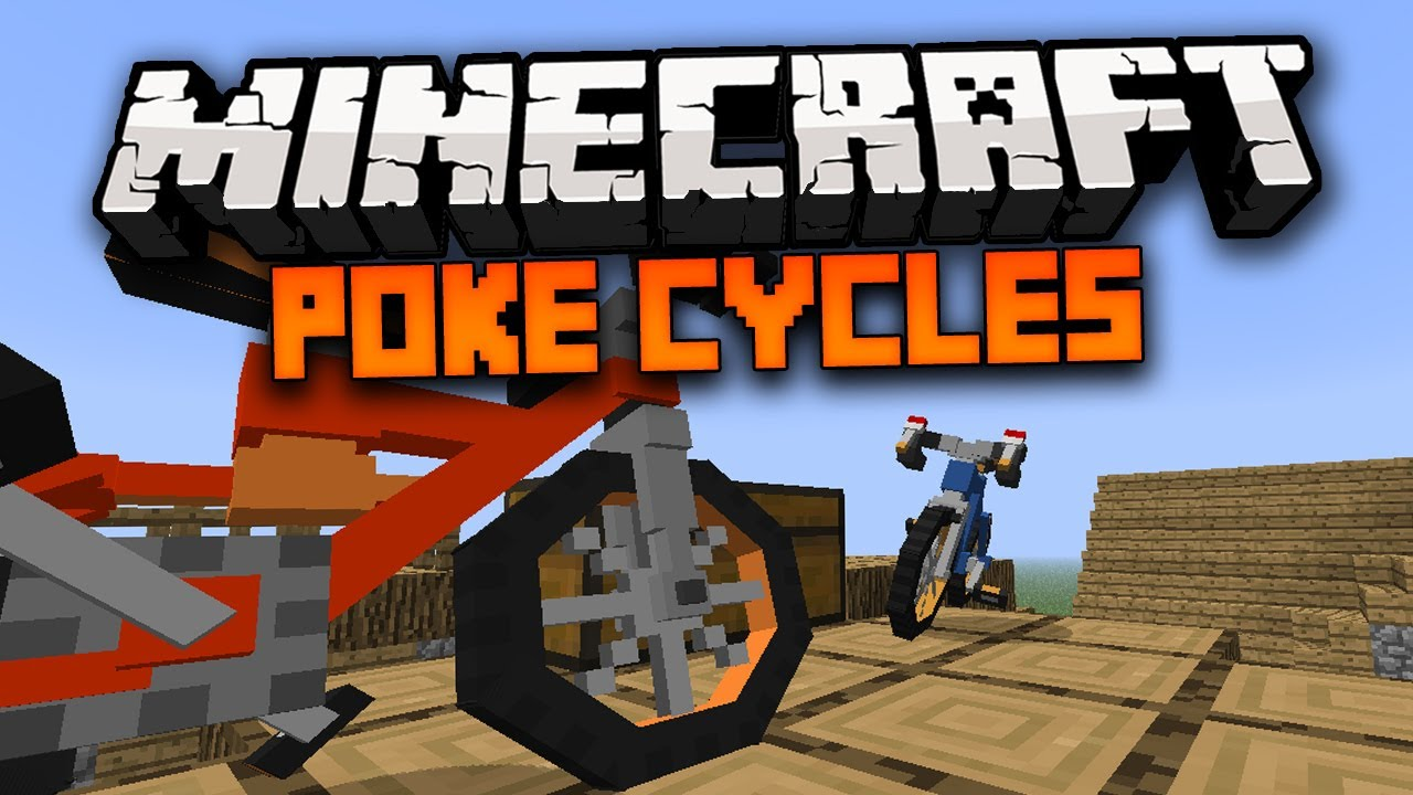 Bike Mod Minecraft 1.7.10 Minecraft Mod POKECYCLE MOD