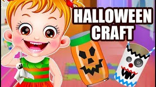 Baby Hazel Halloween Crafts | Fun Game Videos By Baby Hazel Games