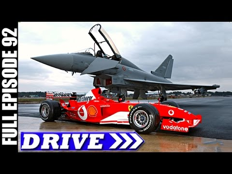 DRIVE TV Show | Fast Fighter Against Red Racer, Italy & More | Full Episode # 92 (HD)