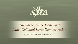 The SOTA Silver Pulser Model SP7 - Ionic Colloidal Silver